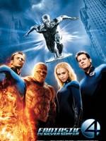 Фантастическая четверка: Вторжение Серебряного серфера (2007) скачать на телефон бесплатно mp4